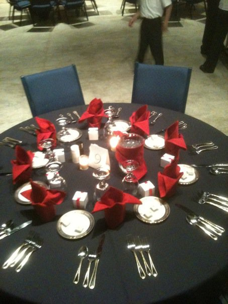 Elegart Catering Table Settings